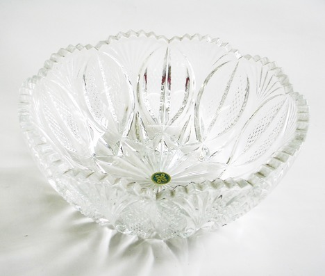 保谷クリスタル ガラス盛鉢