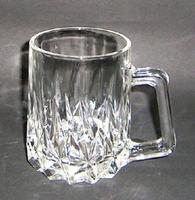 昭和レトロ ガラスジョッキ 透明