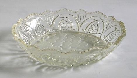 昭和レトロ ガラスフルーツ皿