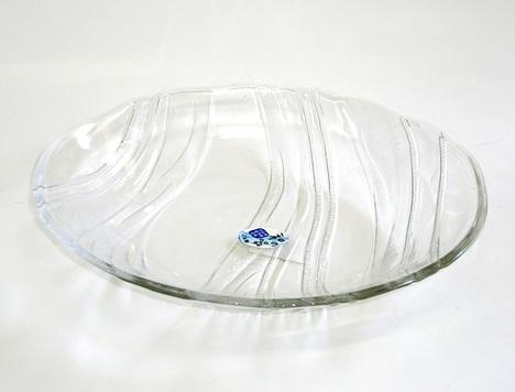 ガラス冷麺皿 冷やし中華に
