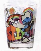 ステッチガラスコップ