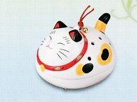 薬師窯 猫型の蚊取り器 特価で通販