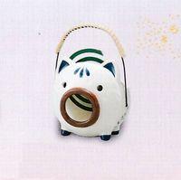 薬師窯 染付豚の縦型蚊取り器 特価で通販