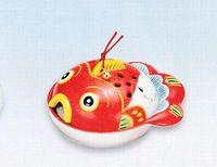 薬師窯 金魚型の蚊取り器 特価で通販