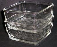 HARIO 耐熱ガラス小鉢 昭和レトロ