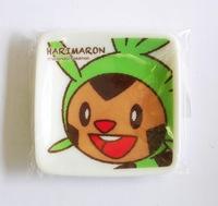 ポケットモンスターXYのハリマロン ミニ角小皿 特価通販