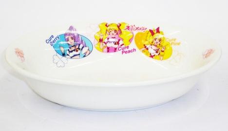 プリキュア陶器 楕円形カレー皿