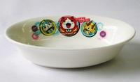 妖怪ウオッチ 陶磁器製楕円形カレー皿