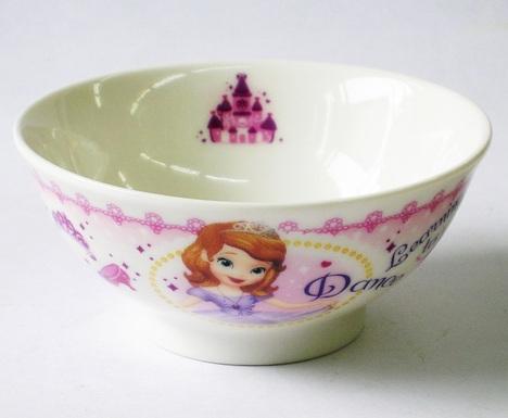 ちいさなプリンセスソフィア茶碗
