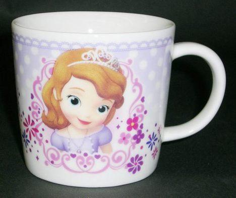 ちいさなプリンセスソフィア ジュニア磁器製マグカップ