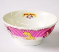 ディズニープリンセス(花飾り)磁器製茶碗