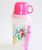 ディズニープリンセス 直飲みコップ付きプラ水筒
