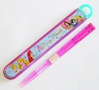 ディズニープリンセス スライド式箸&箸箱セット