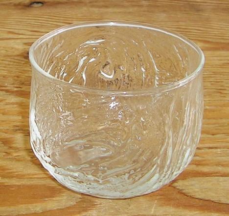 昭和レトロ 波 東洋ガラス冷茶グラス コップ タンブラー