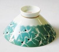 昭和レトロ 鶴 飯茶碗