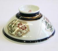 昭和レトロ 松竹梅 陶器の飯茶碗/汁碗