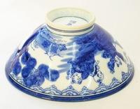 昭和レトロ 唐子 ご飯茶碗 陶器食器