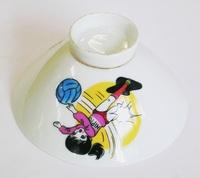 昭和レトロ バレーボール 子供用飯茶碗