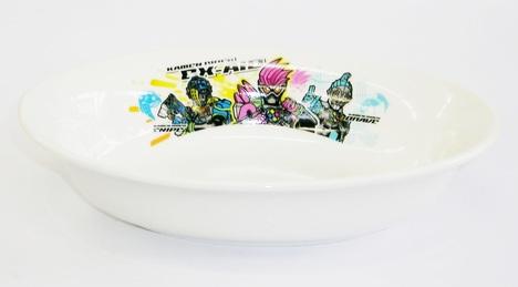 エグゼイド陶器 楕円形カレー皿