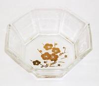 昭和レトロ 梅 八角小鉢
