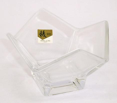 昭和レトロ 佐々木ガラス 小鉢