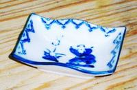 昭和レトロ 唐子 豆皿