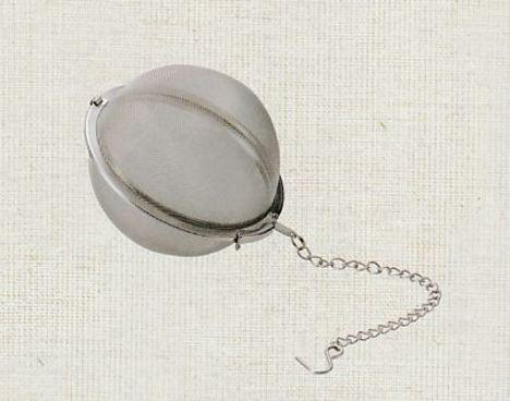 ステンレス製ボール茶こし器