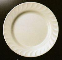 メラミン食器/無地 波型丸皿 激安通販
