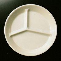 メラミン食器 無地 仕切皿 激安通販