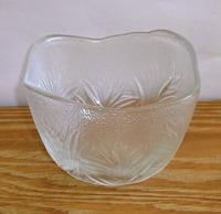 昭和レトロ 佐々木ガラス 角小鉢