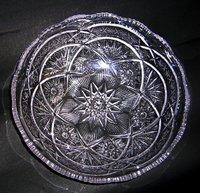 昭和レトロ 曽我ガラス ガラス盛鉢