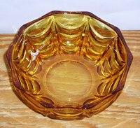 昭和レトロ アンバー小鉢