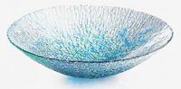 北洋硝子 津軽びいどろ手づくりガラス製水盤 特価 通販