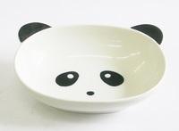 パンダ磁器製カレー皿(深皿)特価 通販