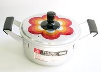 昭和レトロ パナフル18センチアルミ両手鍋 通販