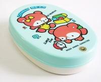 昭和レトロ LOVELY BEAR 弁当箱 プラスチック製