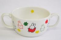 ミッフィー陶器のスープカップ