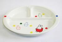 ミッフィー 磁器製ランチ皿 特価 通販