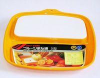 昭和レトロ フルーツまな板26型(イエロー)通販