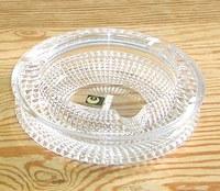 昭和レトロ カメイガラス 松ケ岡ガラス クリスタル灰皿 通販