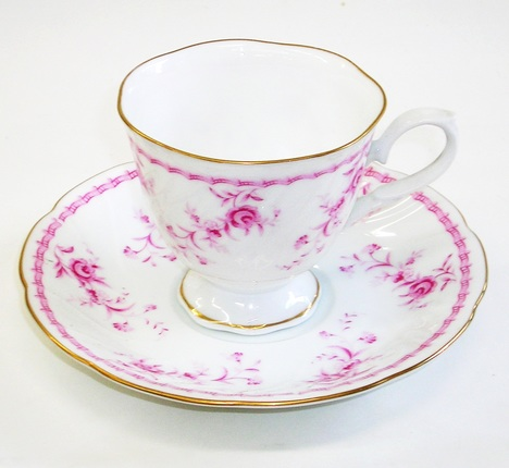 昭和レトロ バラ花柄コーヒーカップ&ソーサー 通販
