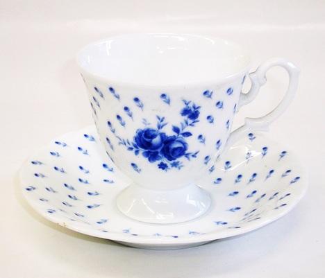 昭和レトロ HOYA バラ コーヒーカップ&ソーサー 通販