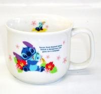 スティッチ陶器マグカップ