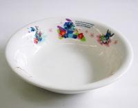 スティッチ磁器製フルーツ皿 特価 通販 子供食器