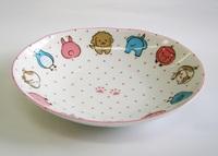 ニコニコどうぶつ カレー深皿 特価 通販 子供食器