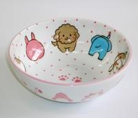 ニコニコアニマルフェイス小鉢 特価 通販 子供食器