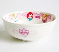ディズニープリンセス(花飾り)磁器製ラーメン丼