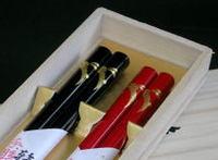 贈答用にもおすすめ 高級塗箸の輪島塗箸と実用的な若狭塗箸