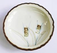 昭和レトロ 麦柄中皿 陶器 通販