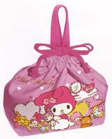 マイメロディ(ヌイグルミ)巾着式弁当袋 通販 特価